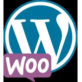 WordPress with WooCommerce logo